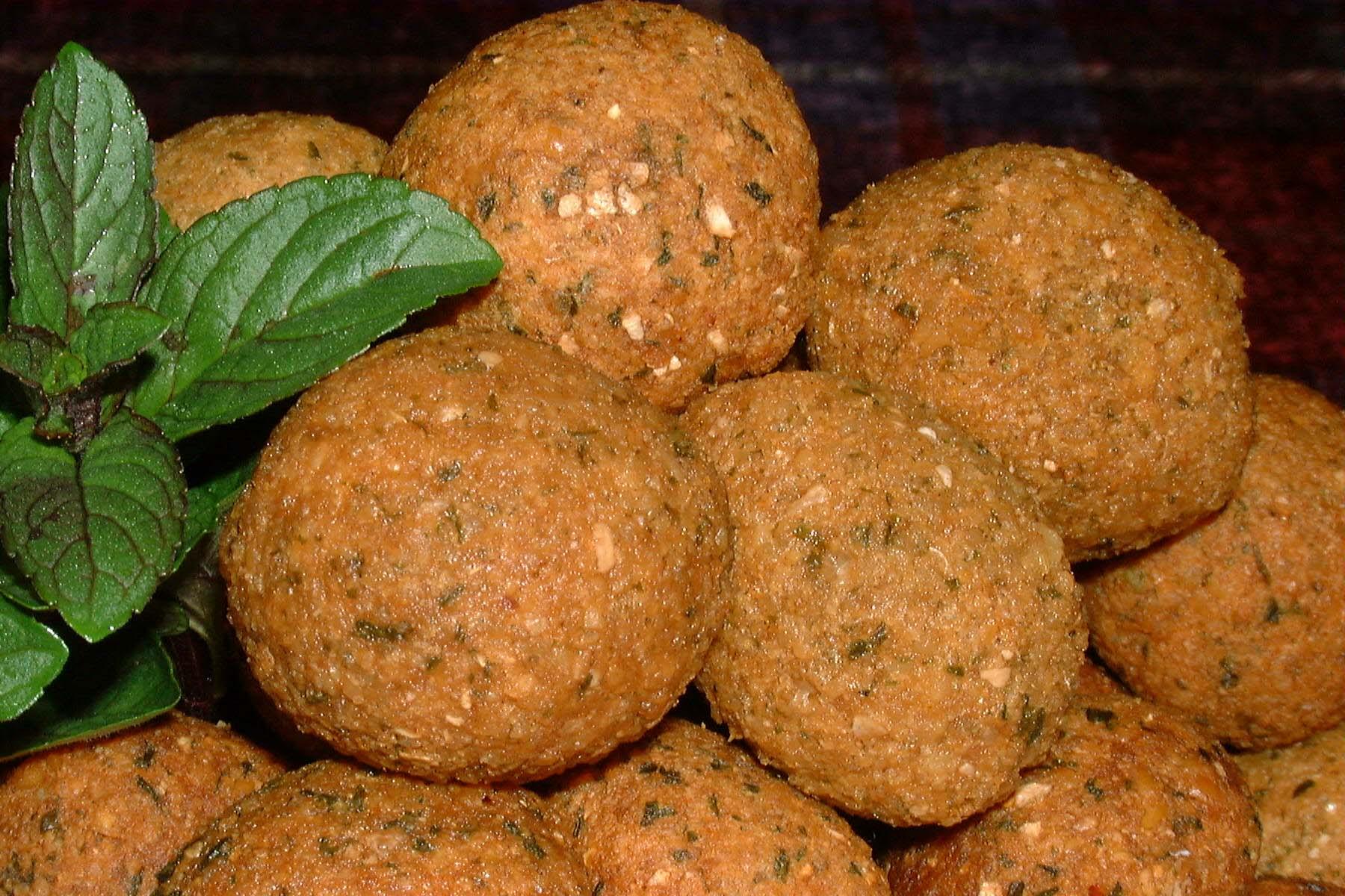 طرز تهیه غذای ملل  فلافل لبنانی