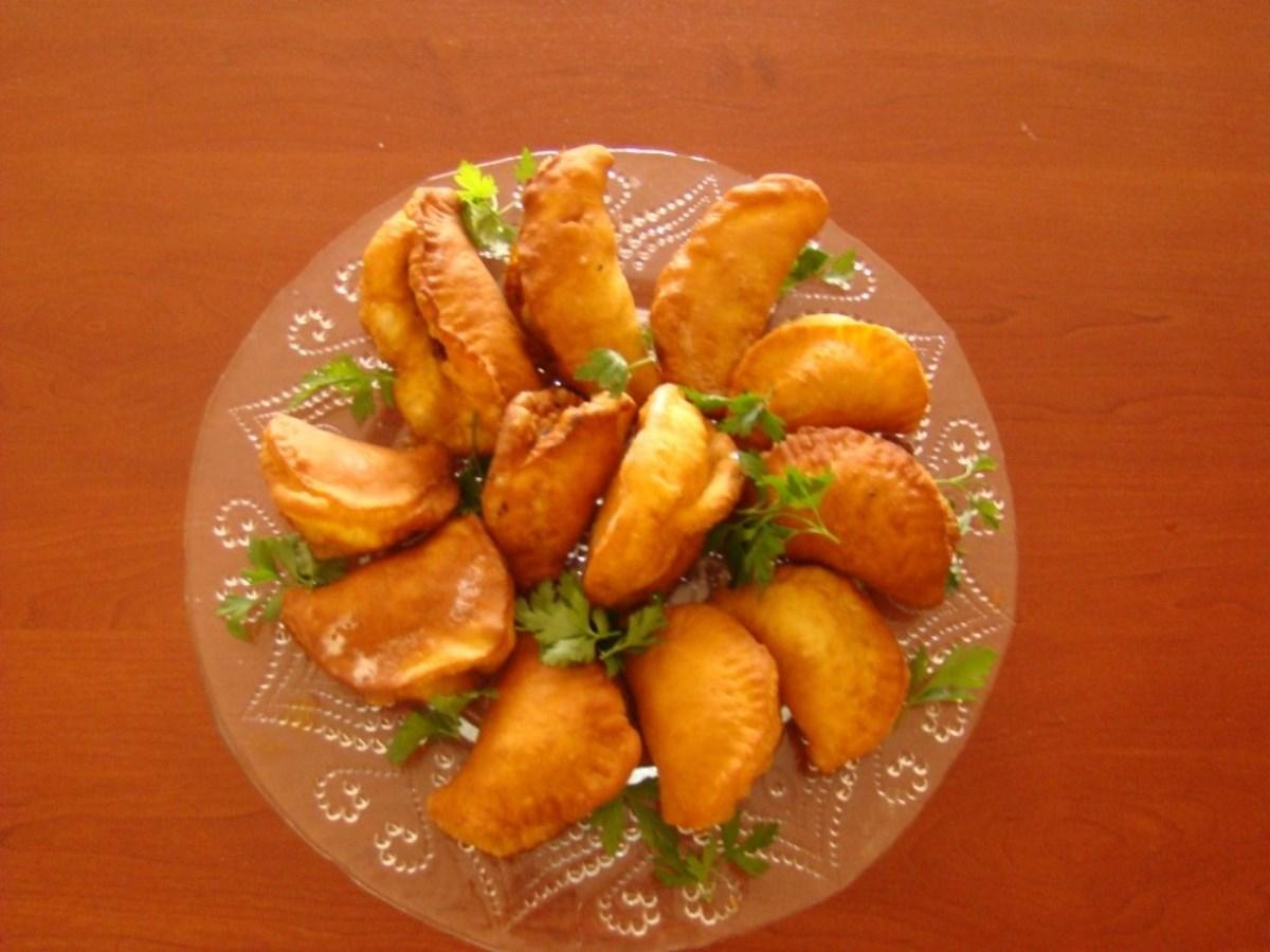 طرز تهیه غذای ملل سمبوسه با خمیر(عراق)