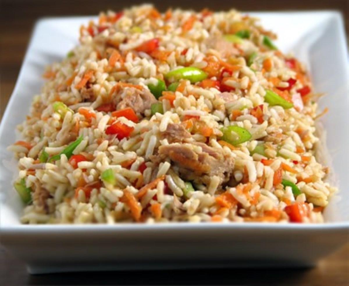 طرز تهیه غذای ملل مخلوط پلو چینی