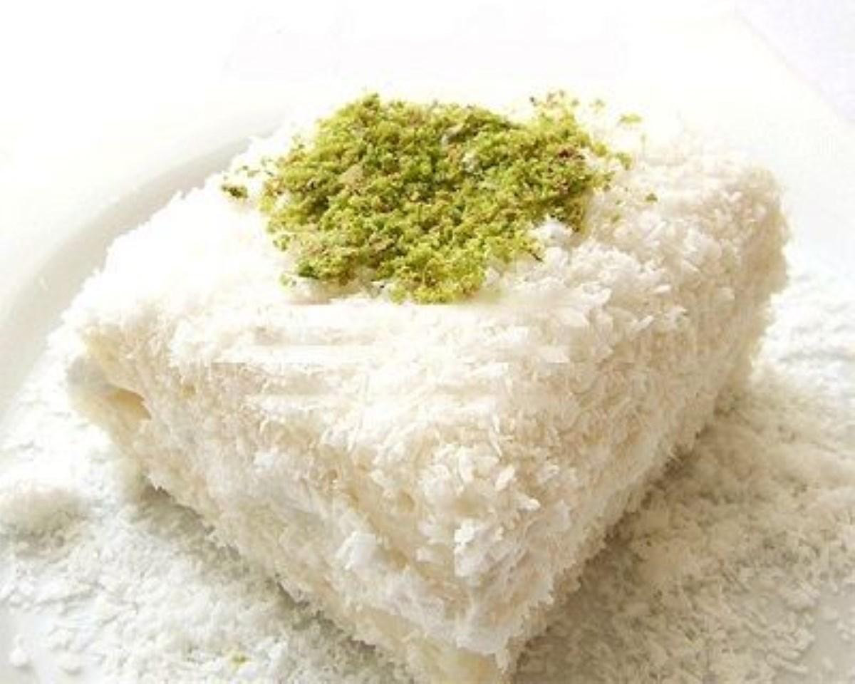 طرز تهیه غذای ملل دسر برفی