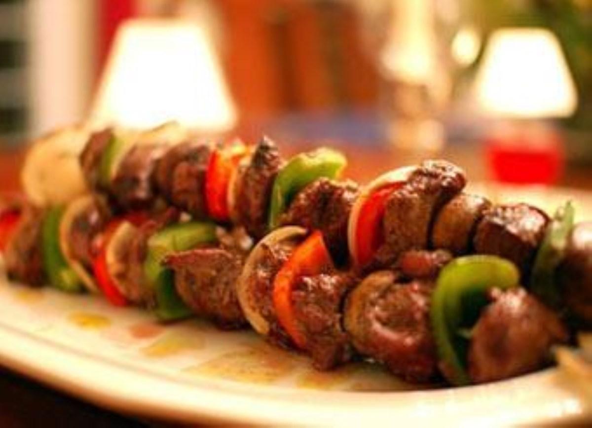 طرز تهیه غذای ملل کباب بره فرانسوی