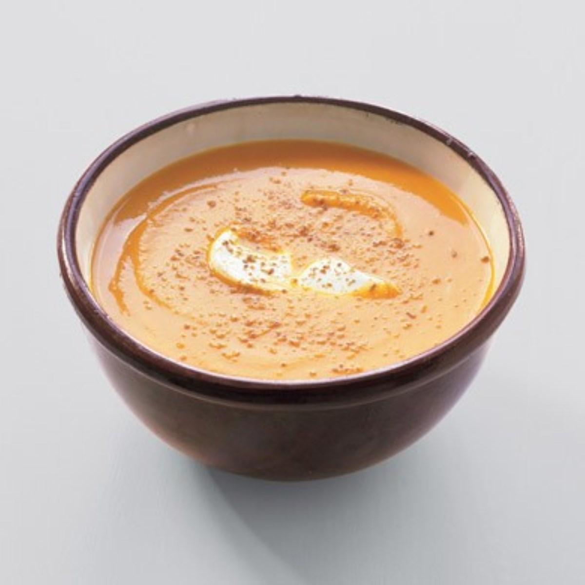 طرز تهیه غذای ملل سوپ هویج مراکشی