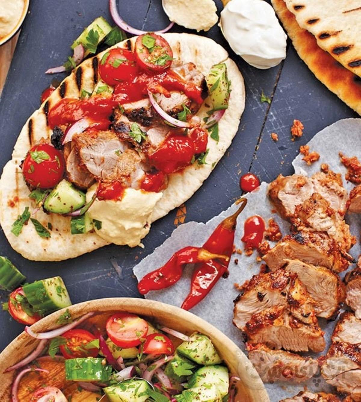 طرز تهیه غذای ملل کباب ترکی با گوشت