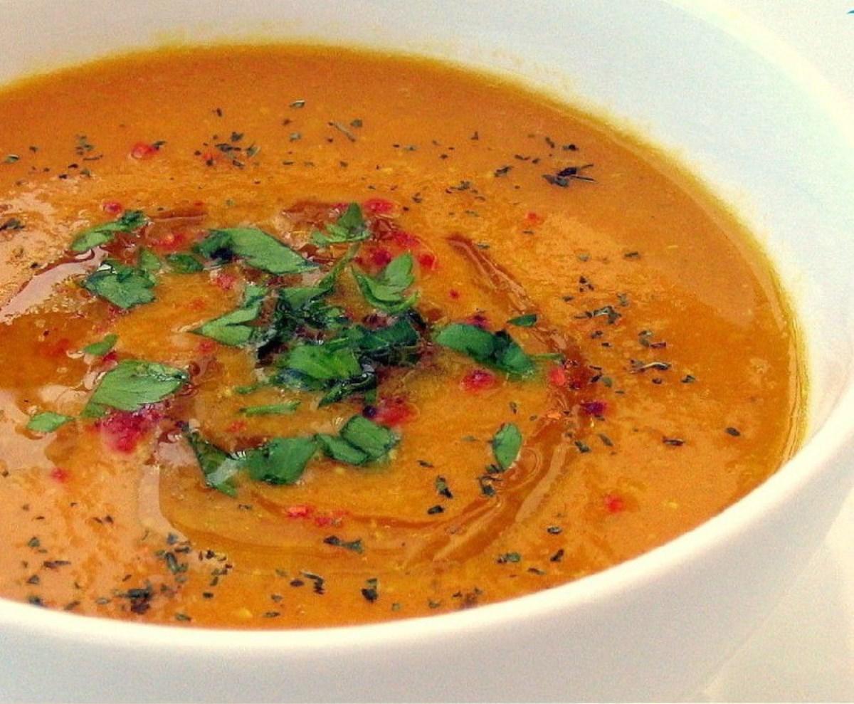طرز تهیه غذای ملل سوپ ازوگلین (ترکیه ای)