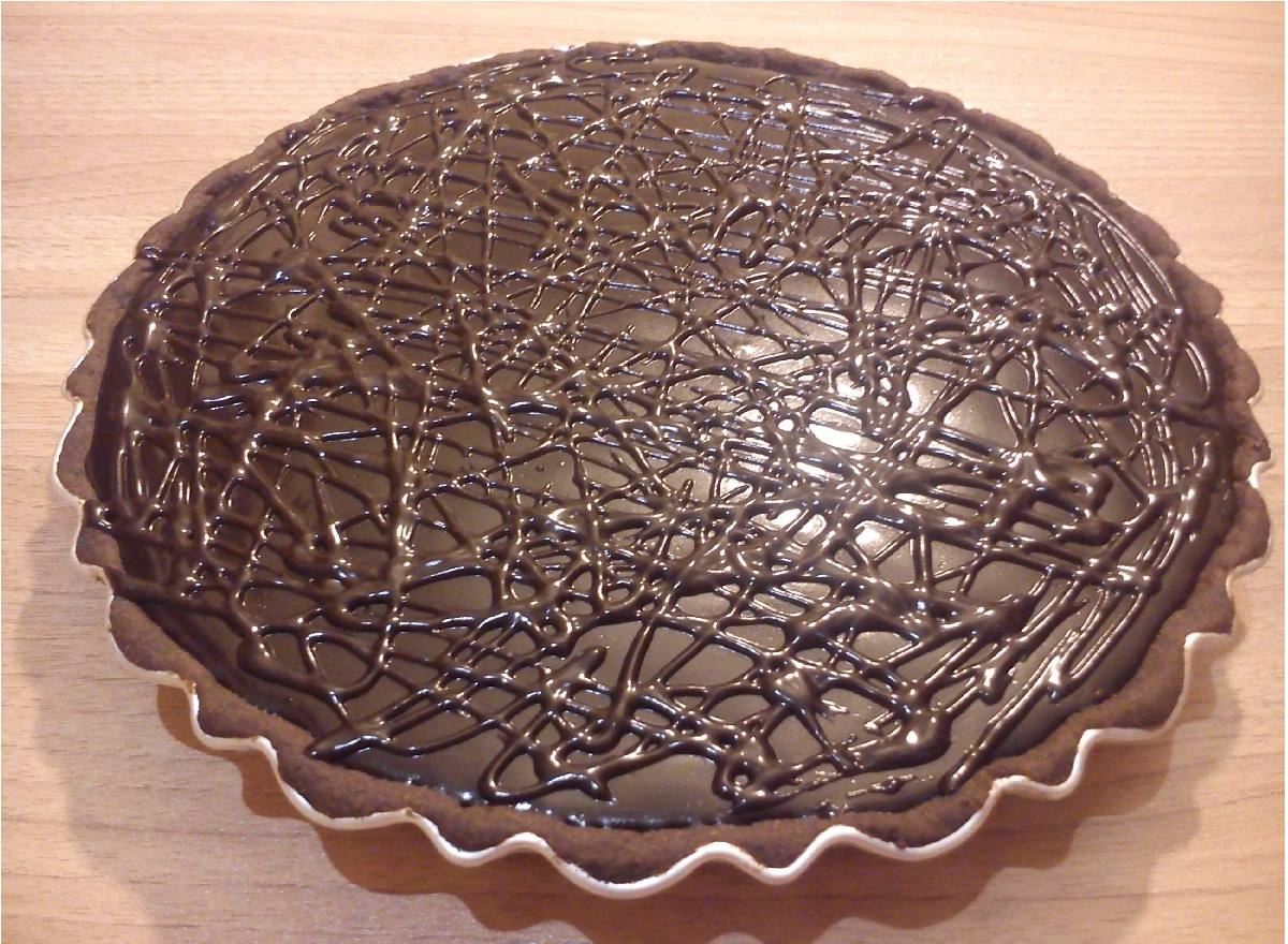 طرز تهیه تارت شکلاتی