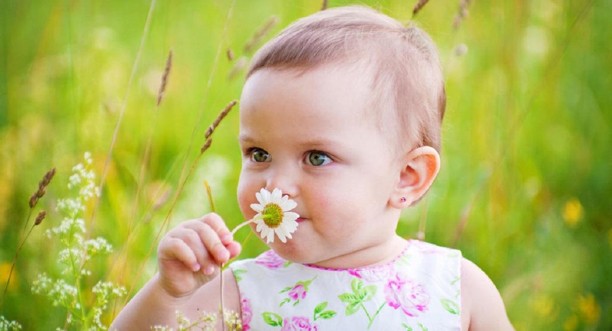 کودک من در چهار ماهگی چه چیزهایی را می چشد یا بو می کند؟ 