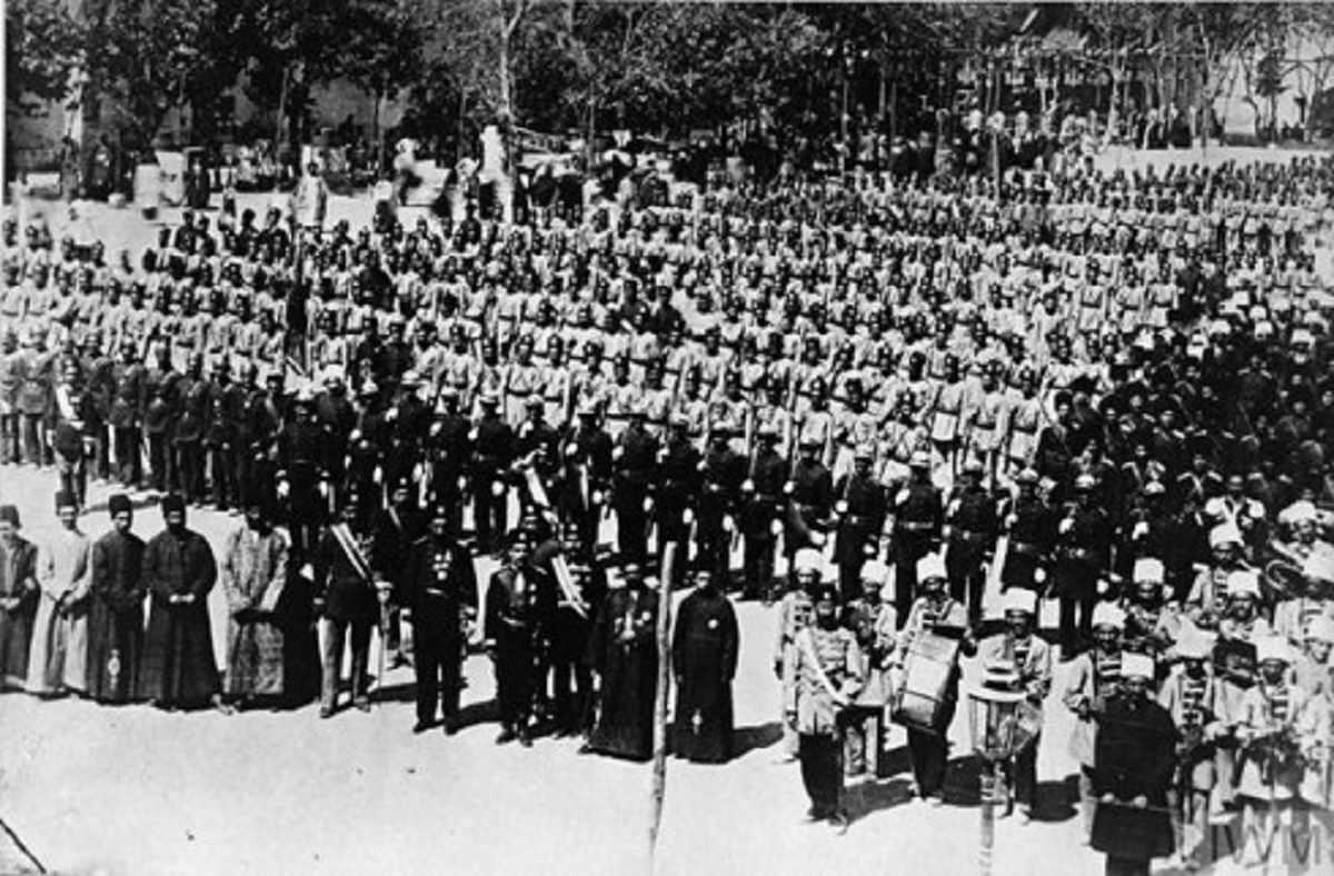 جنگ جهانی اول ضعیفترین دوران دولت مشروطه ایران