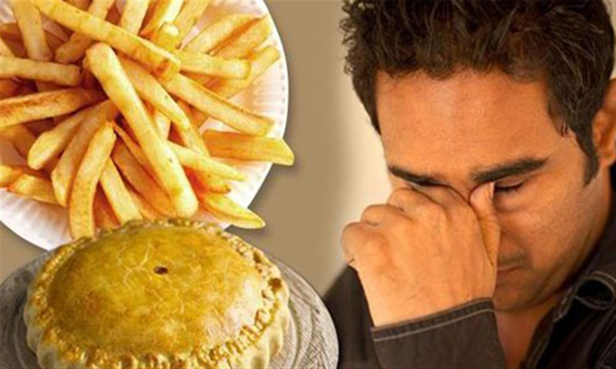 مواد غذایی که باعث تشدید افسردگی می شوند