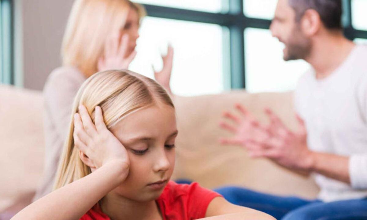 تاثیرات مشاجره والدین بر شخصیت کودکان