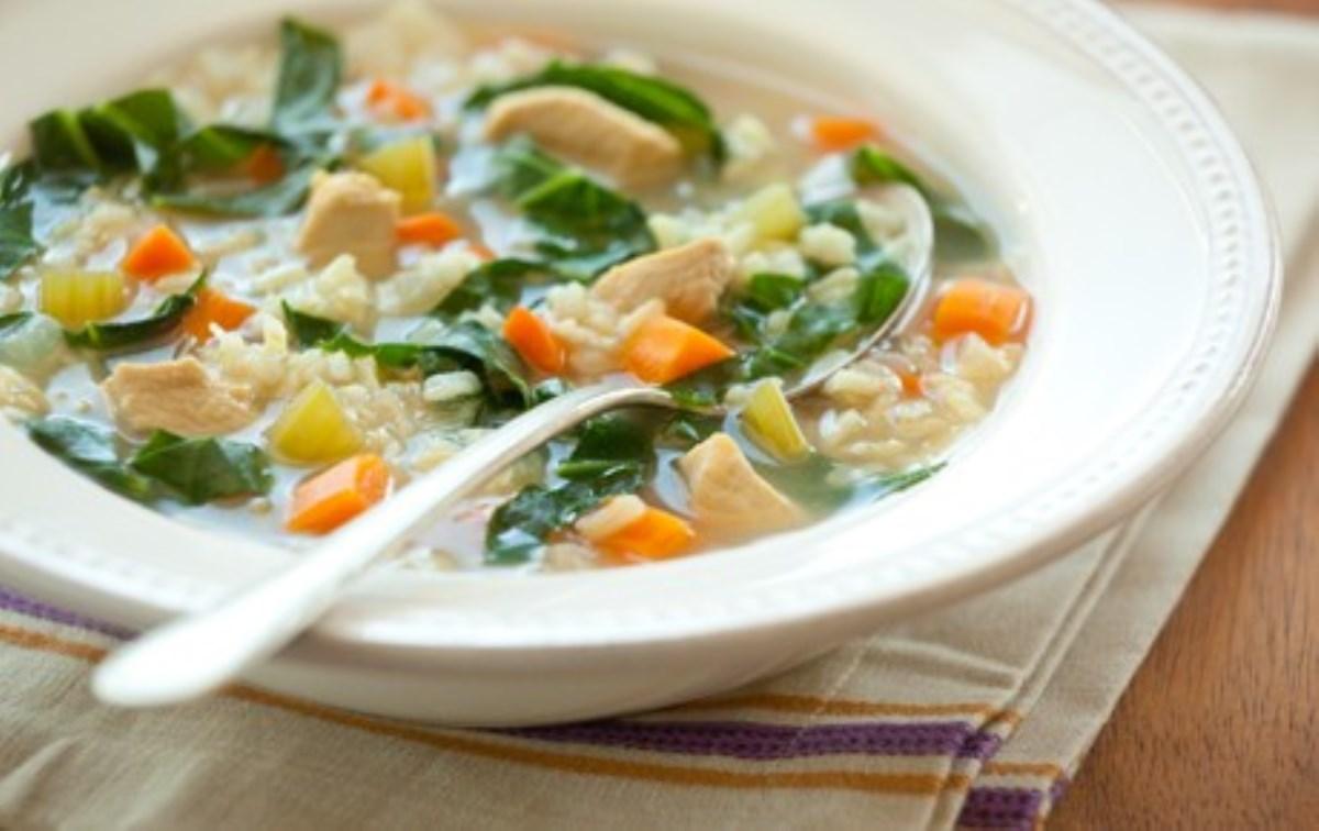 طرز تهیه سوپ سبزیجات با مرغ(رژیمی)