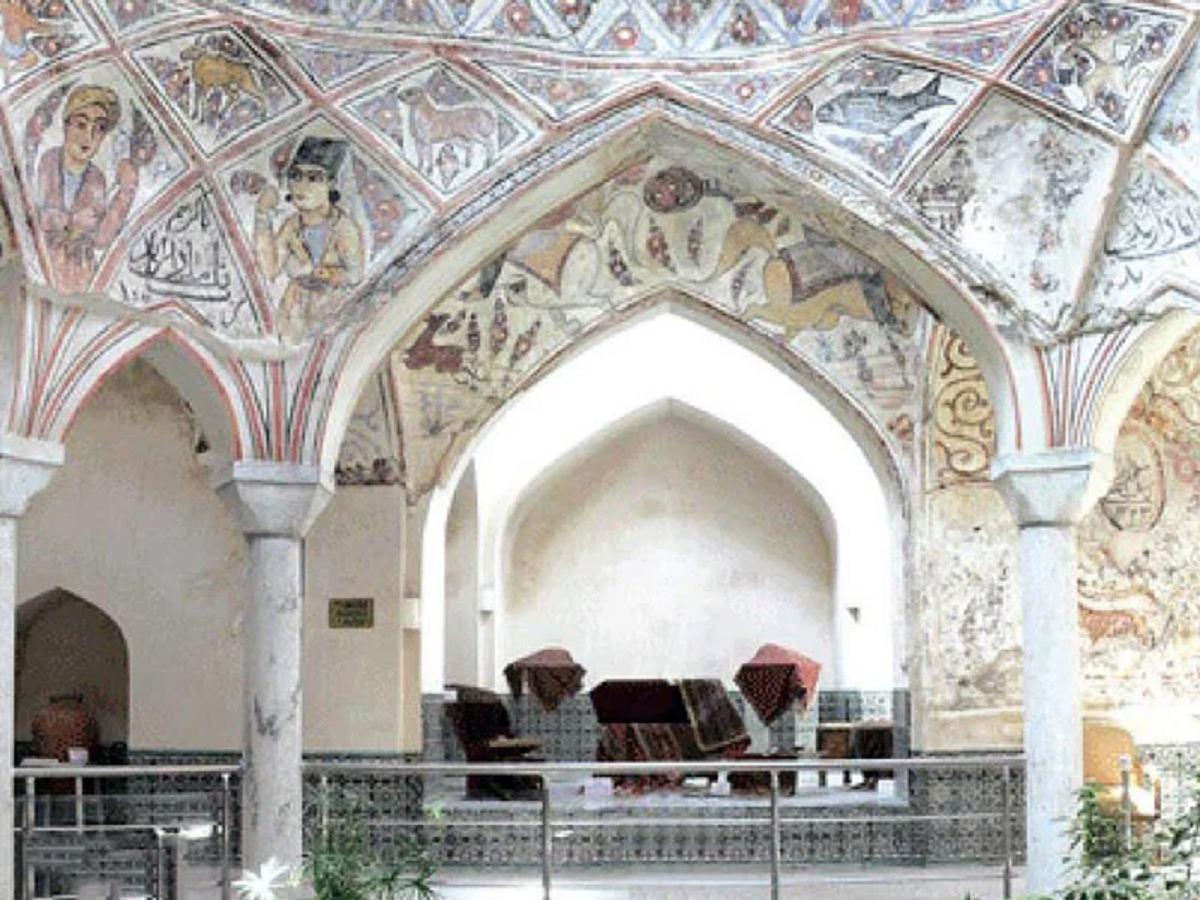 معماری بینظیر حمام شاه و تبدیل شدنش به موزه مردم شناسی