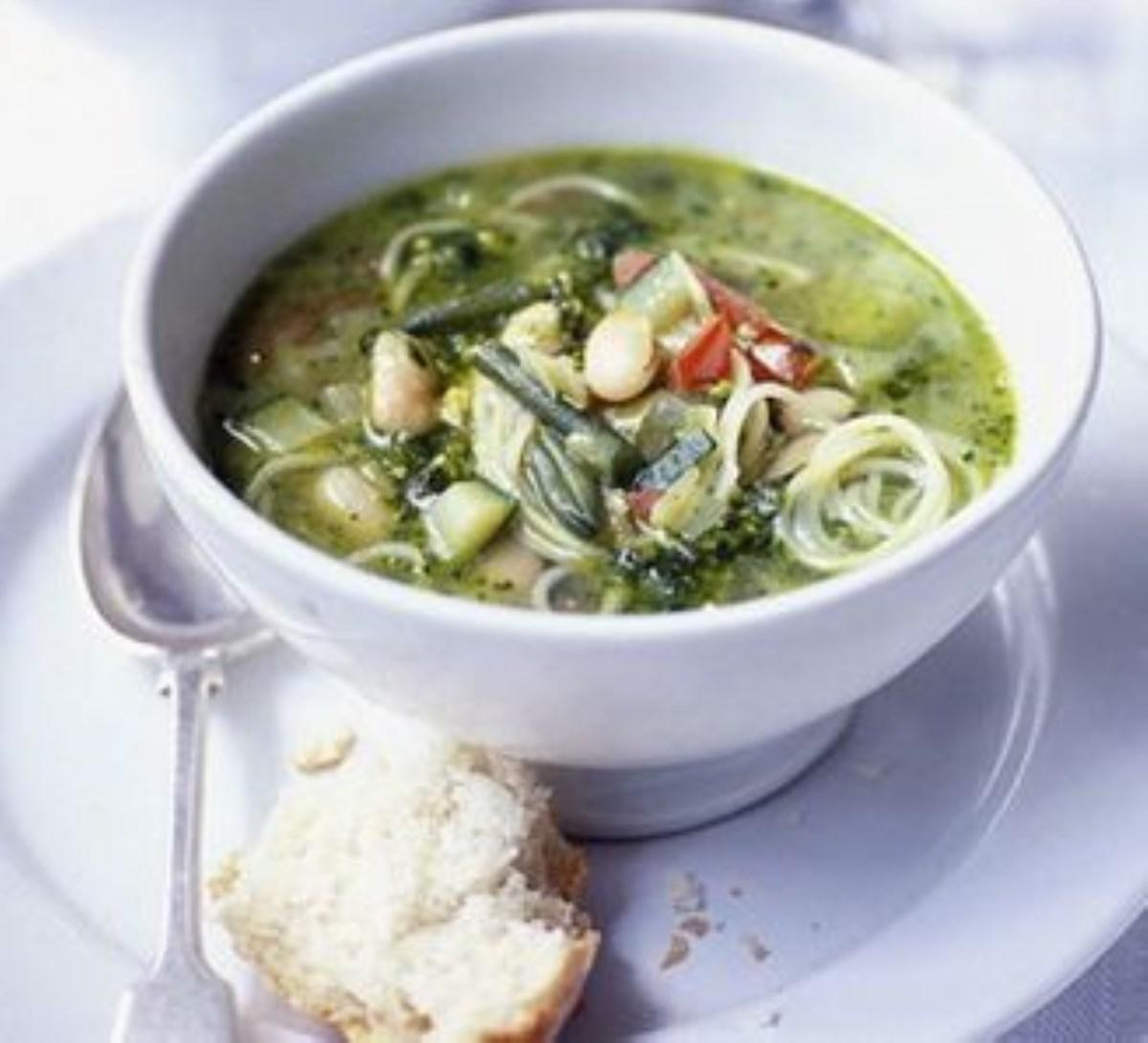 طرز تهیه سوپ سبزیجات (غذای رژیمی)