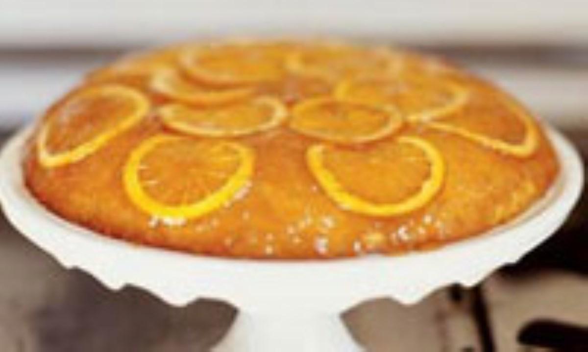  كيك پرتقالي