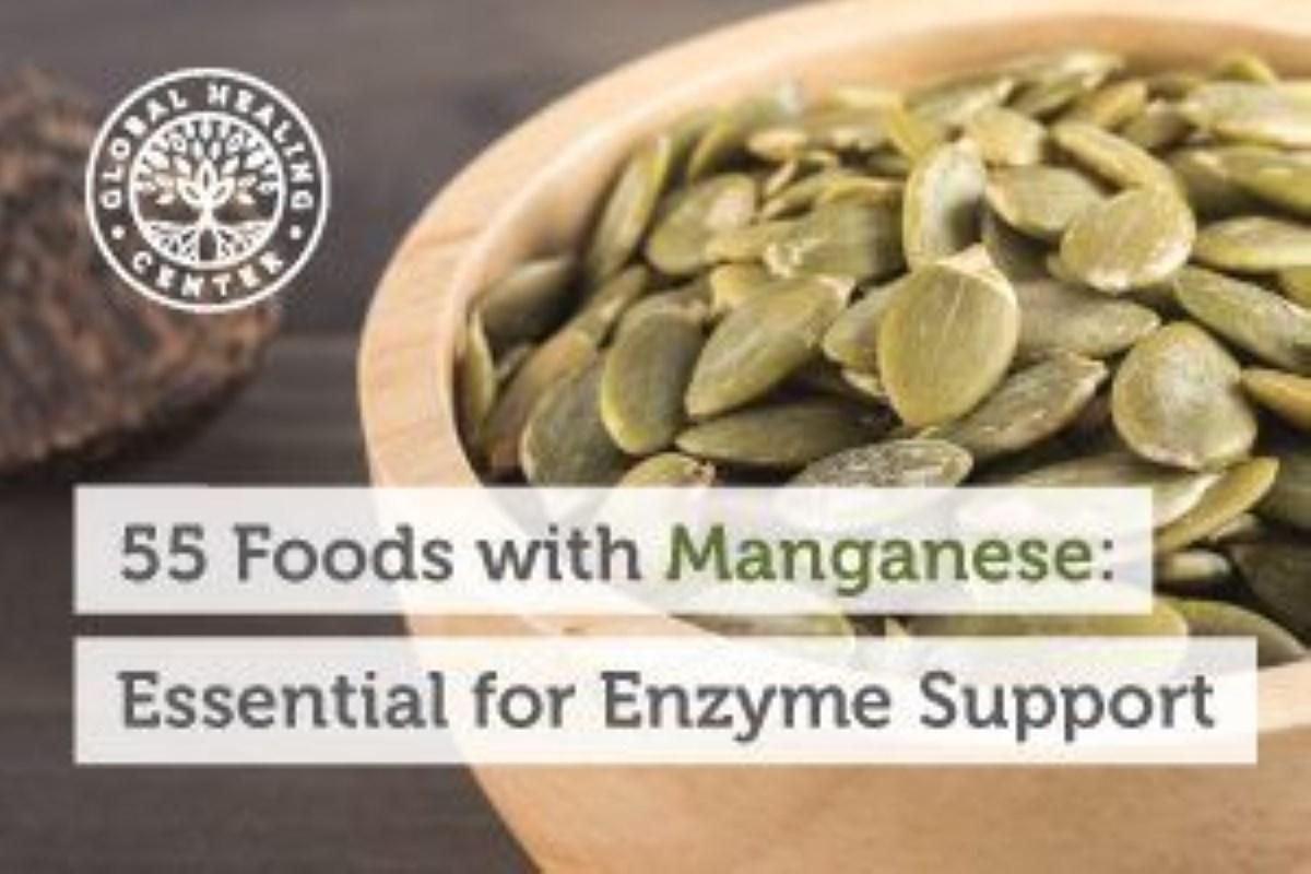 55 غذای لازم برای حمایت از آنزیم ها