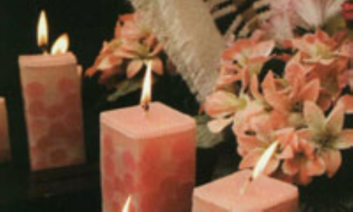شمع مرمري