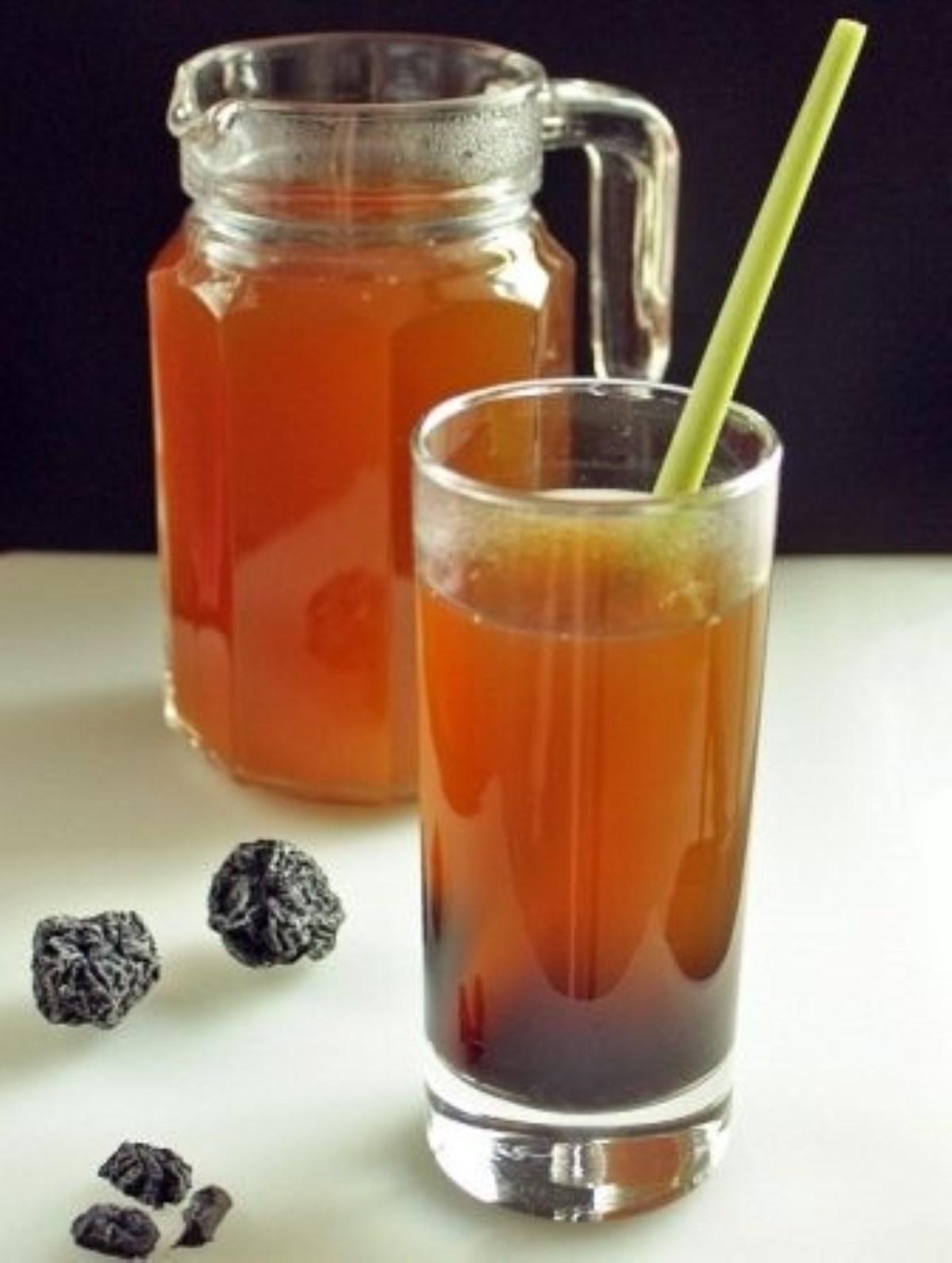 طرز تهیه نوشیدنی گرم، چای لیمو و آلو