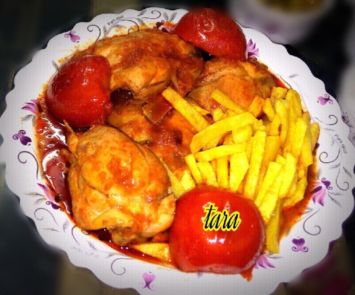 طرز تهیه ترشه مرغ(گیلانی) (غذای رژیمی)
