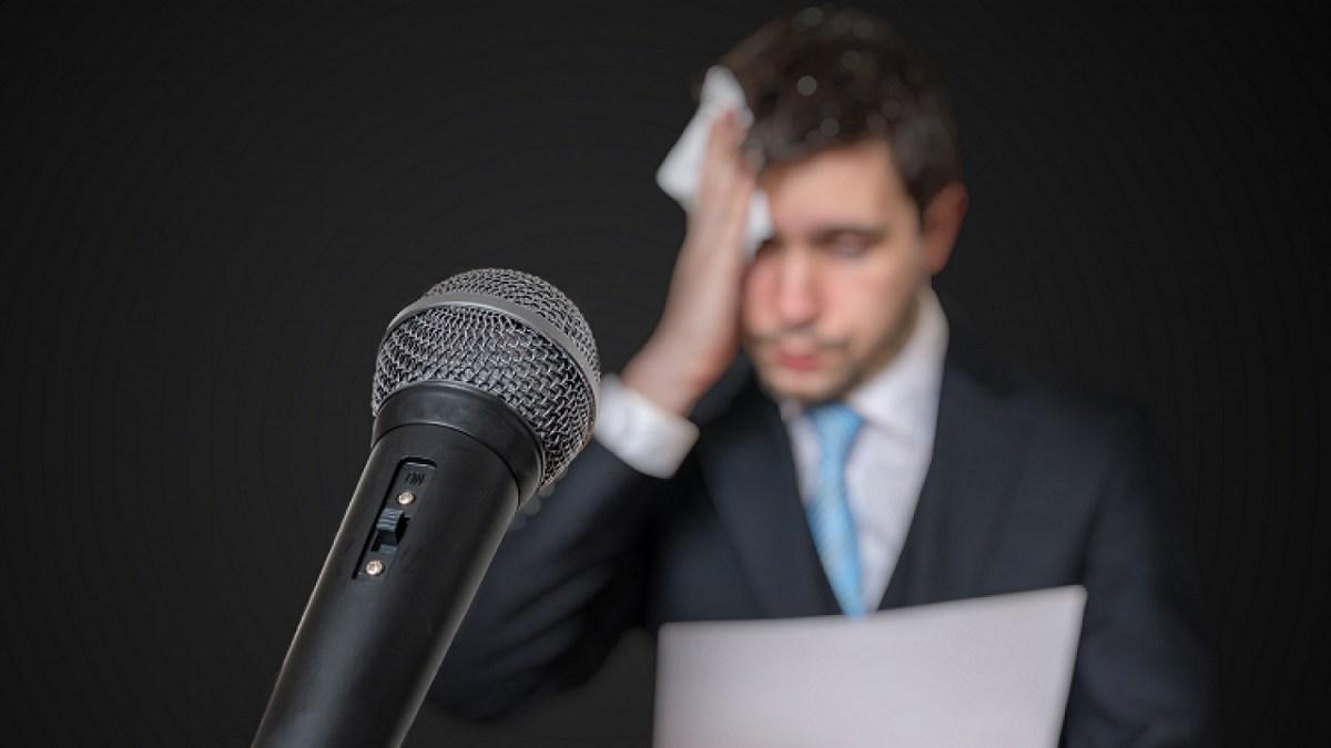 راهکار های علمی برای غلبه بر ترس هنگام سخنرانی