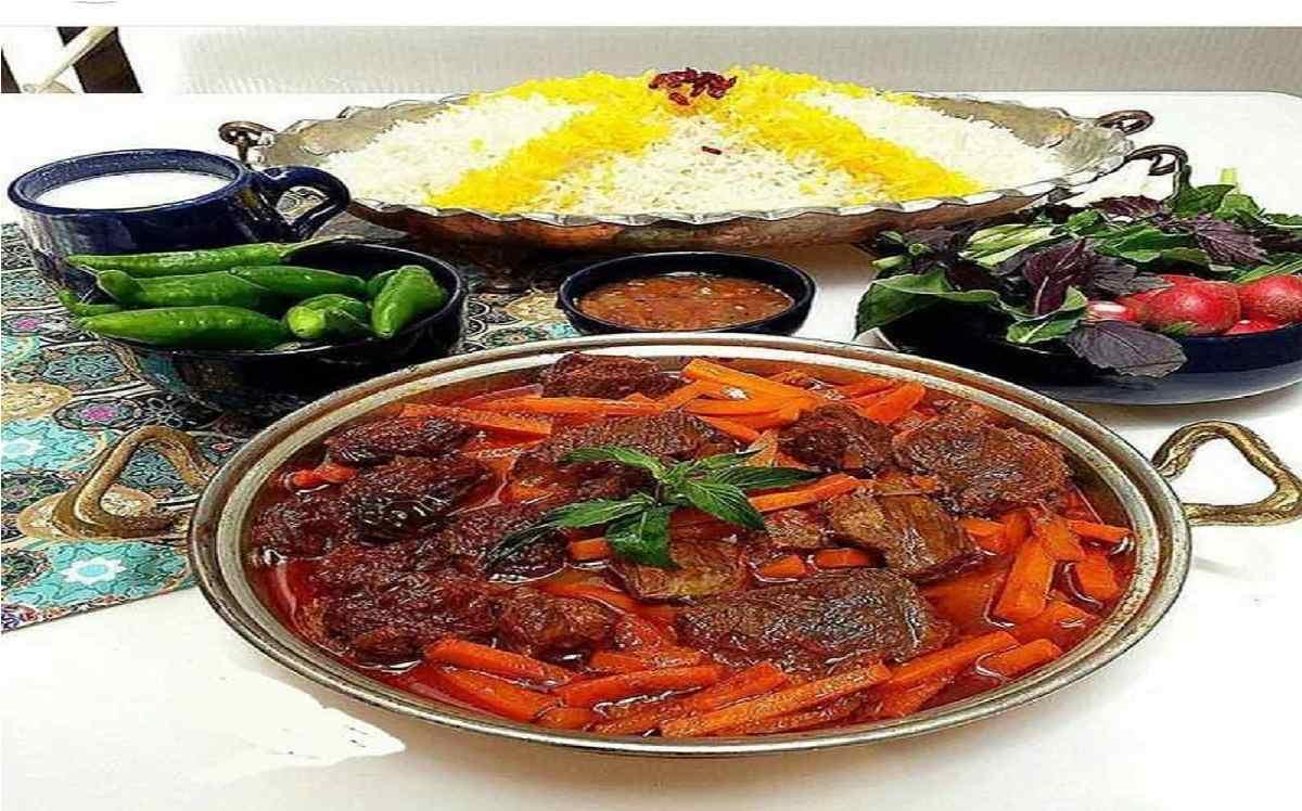 دستور پخت قیمه هویج