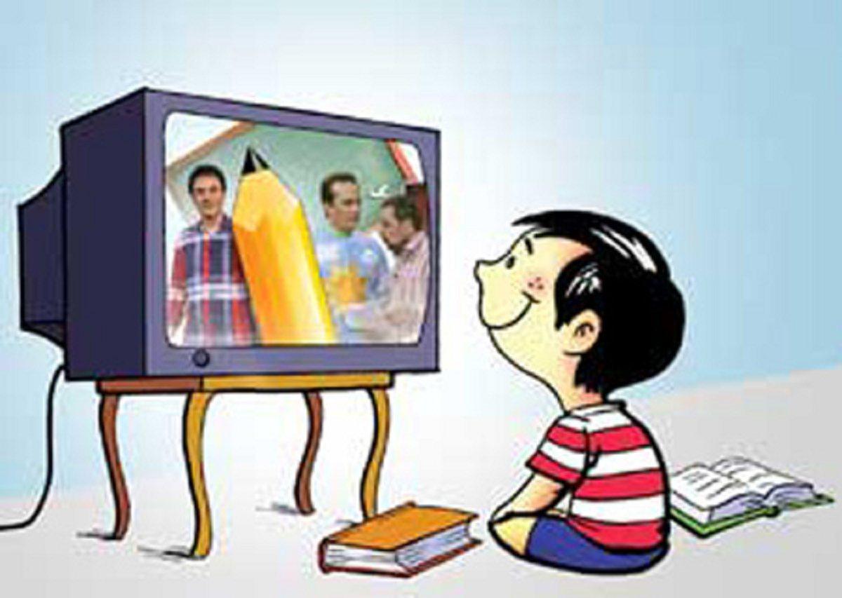 مضرات تماشای زیاد تلویزیون برای بچه ها