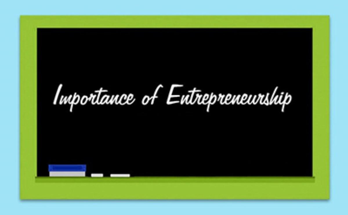 چرا کارآفرینی مهم است؟