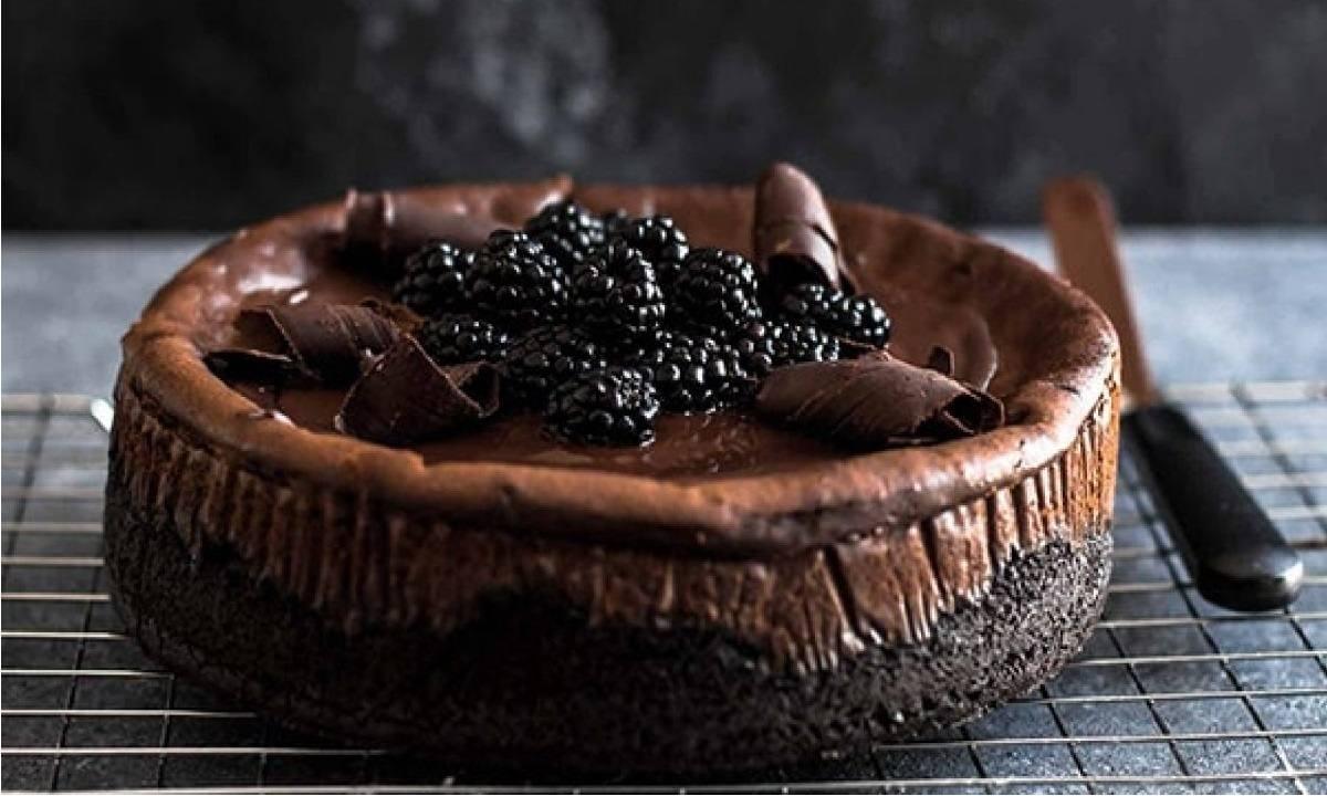 دستور پخت چیز کیک شکلاتی