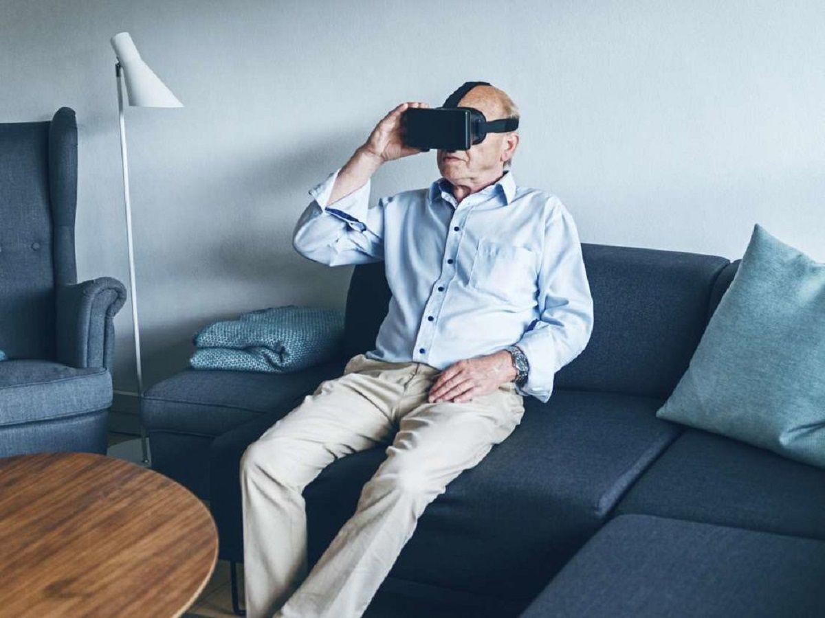 واقعیت مجازی برای درمان سالمندان