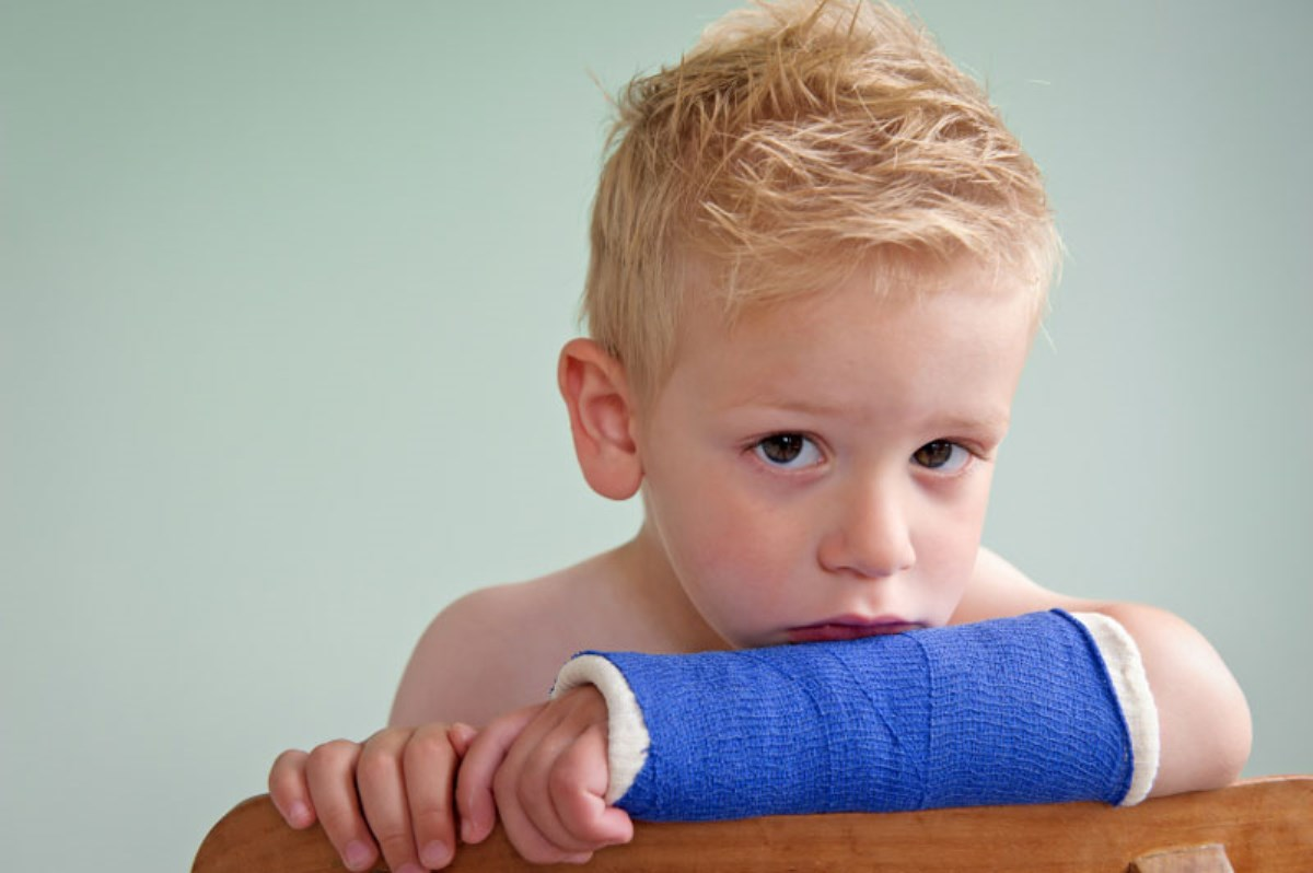 شکستگی استخوان در کودک