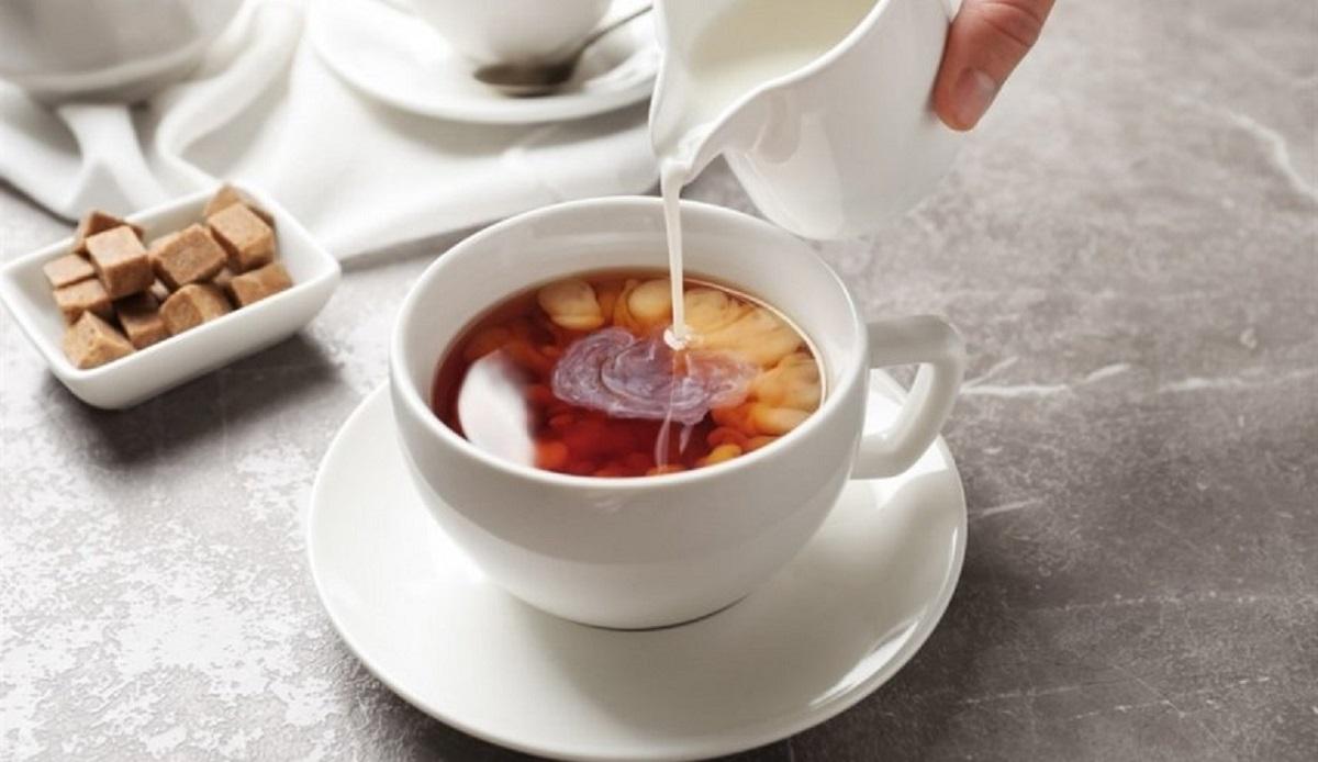 طرز تهیه چند نوع ترکیب چای و شیر