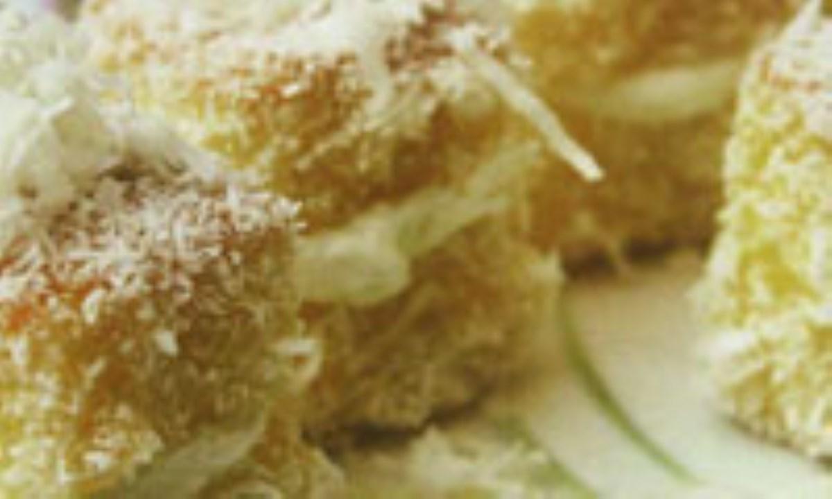 کيک ژله اي آناناس