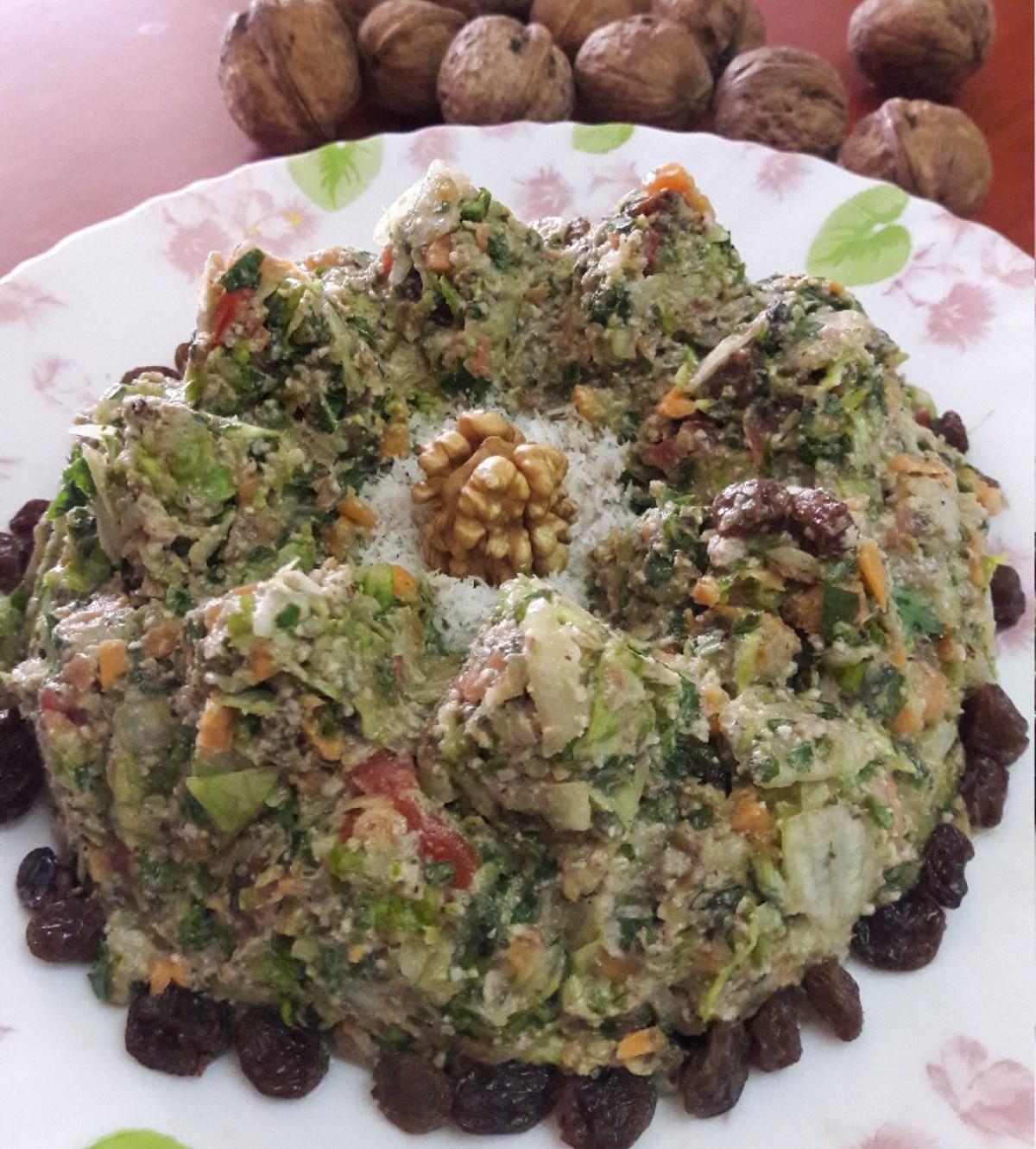 طرز تهیه خوراک مخلوط (غذای رژیمی)