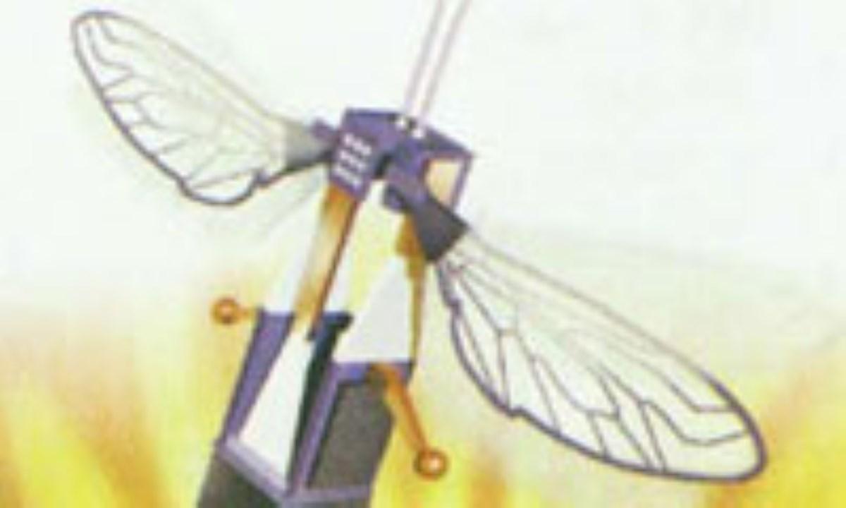 روبات پرنده کوچک