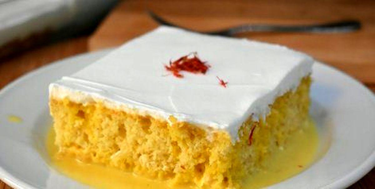 روش تهیه سه نوع کیک زعفرانی