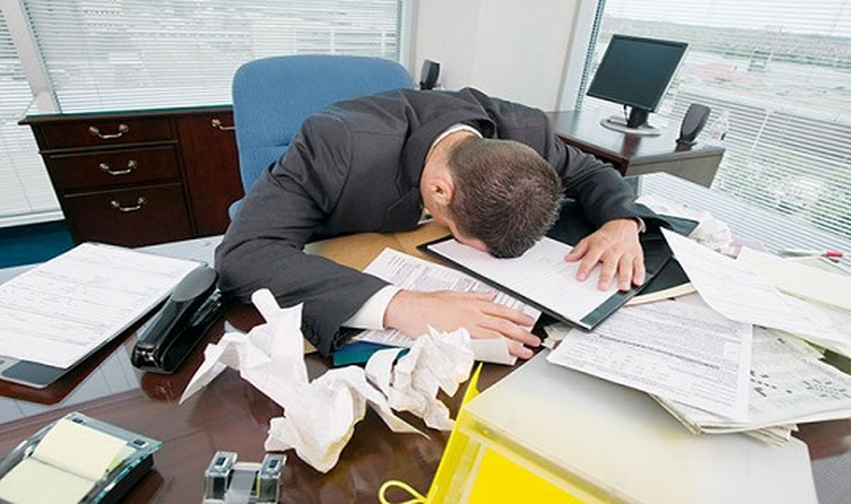 نشانه های استرس در مردان و درمان آن