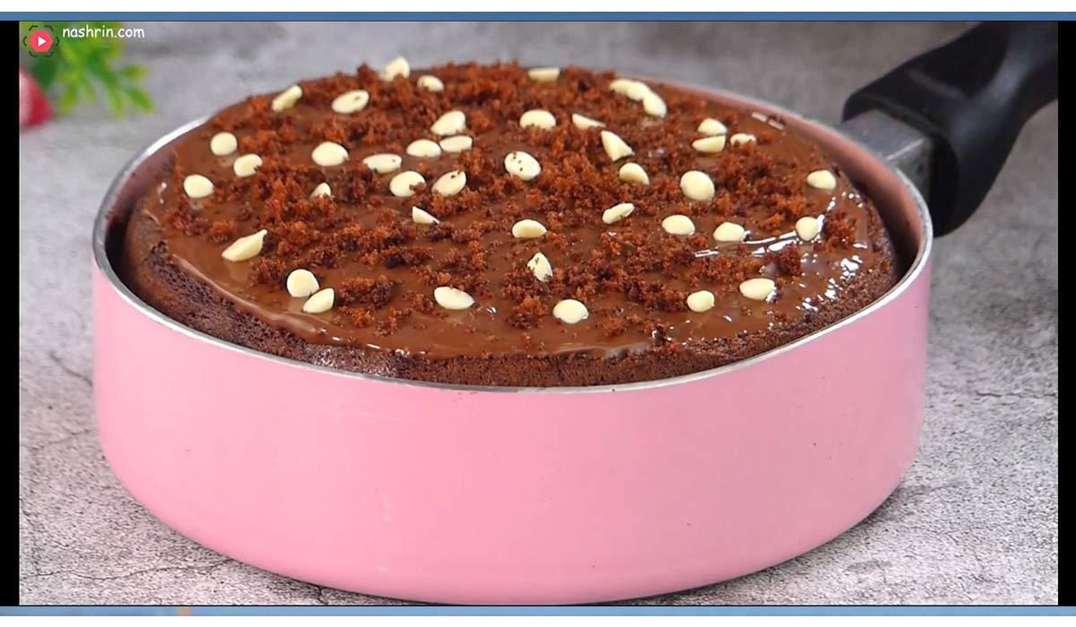 آموزش 3 کیک بدون فر
