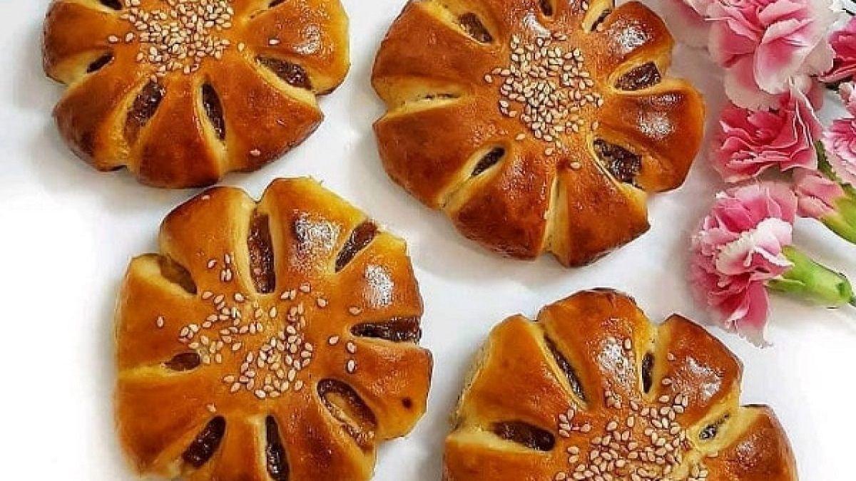 طرز تهیه سه نوع کلوچه خرمایی