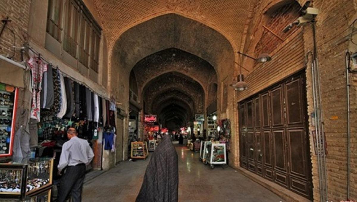 بازار بزرگ کرمان یکی از شاهکارهای تاریخی ایران
