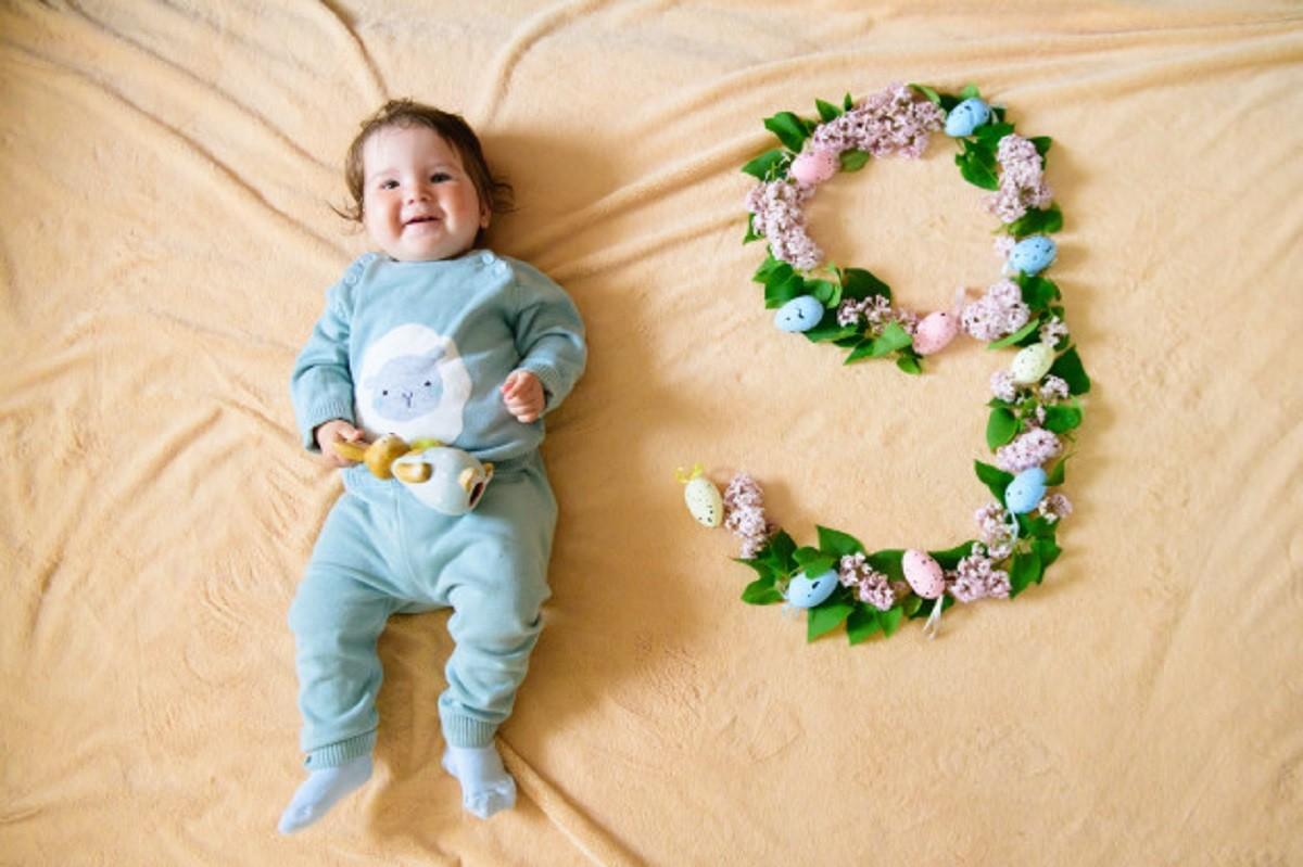 نکاتی در خصوص نه ماهگی نوزاد