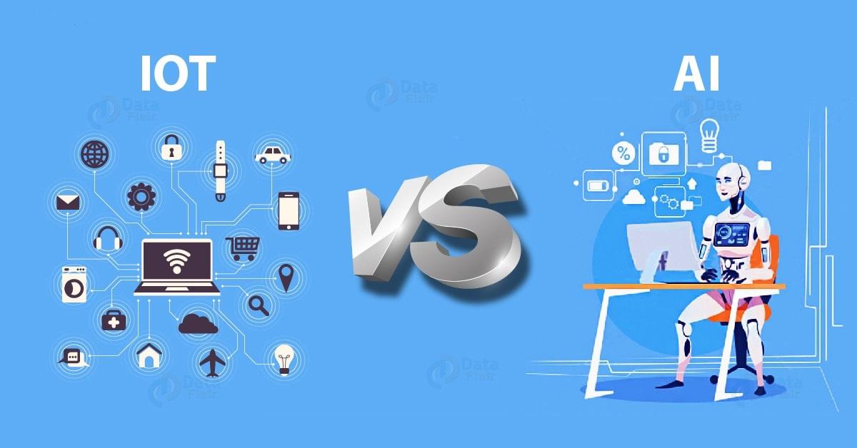 از تفاوت های هوش مصنوعی و اینترنت اشیاء چه می دانید؟