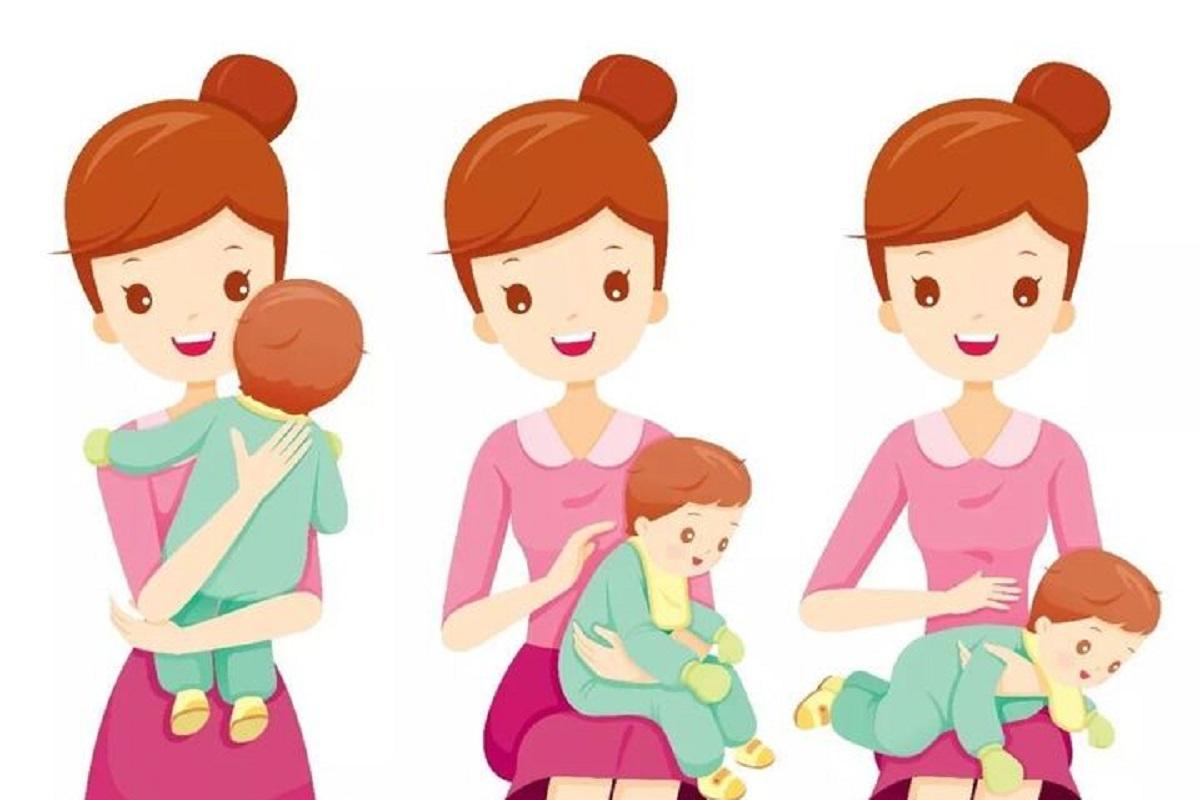 چگونه آروغ نوزادم را بگیرم؟