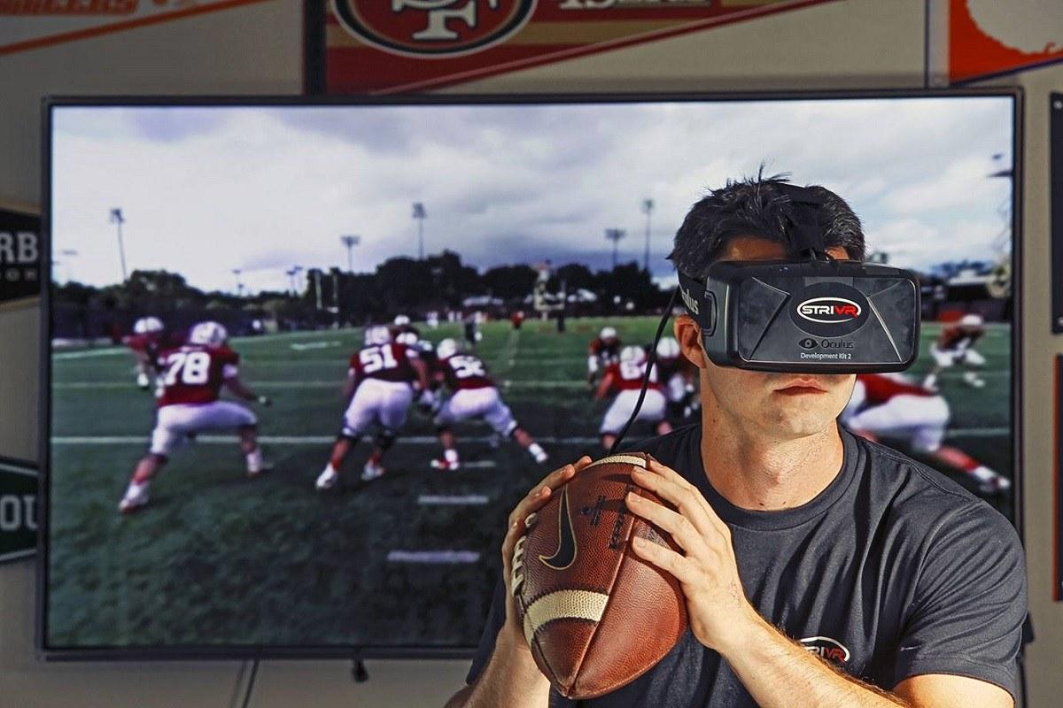 مثالهایی از کاربرد واقعیت مجازی در ورزش