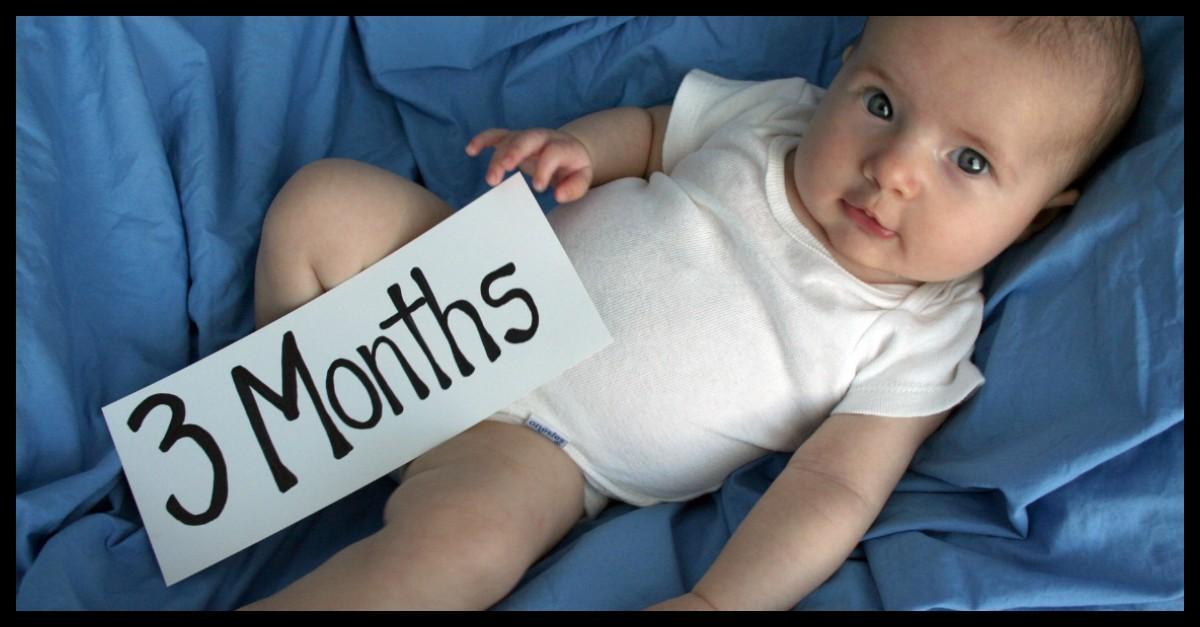 اطلاعاتی در خصوص سه ماهگی نوزاد