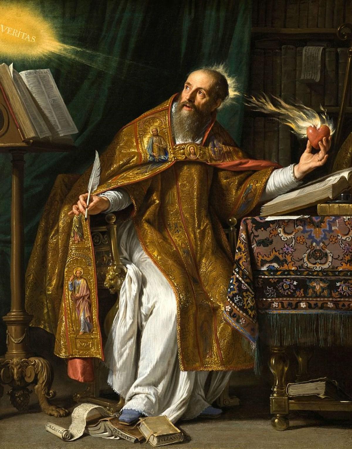 آگوستین پدر الاهیات لاتین