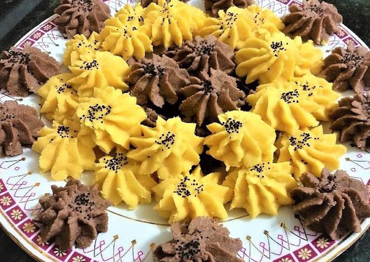 آموزش تهیه چند مدل شیرینی عید