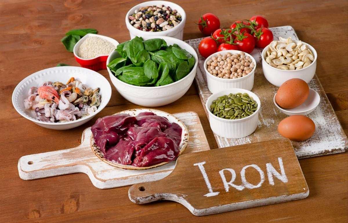 مقابله با فقر آهن با برخی خوراکیها
