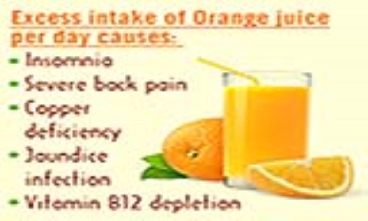 آیا زیاده روی در مصرف آب پرتقال برای سلامتی مضر است؟