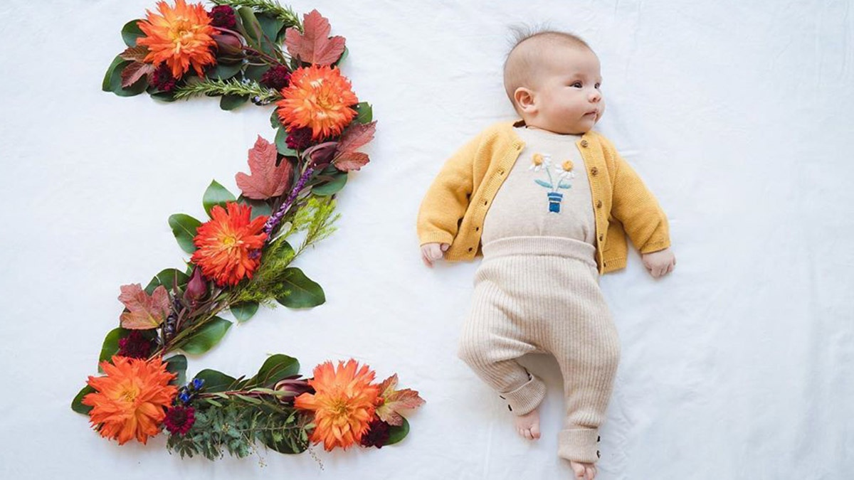 اطلاعاتی از دو ماهگی نوزاد