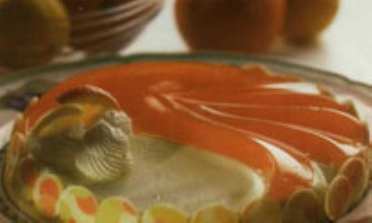 پودينگ ماست و ليمو و پرتقال