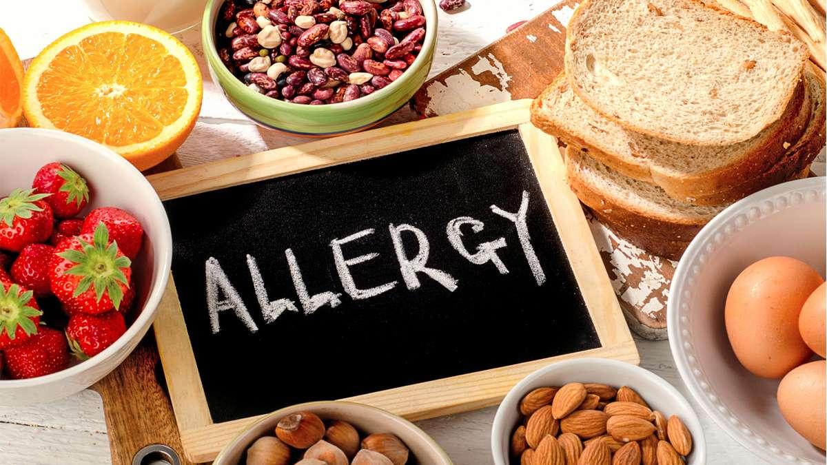 مواد غذایی که باعث آلرژی می شوند