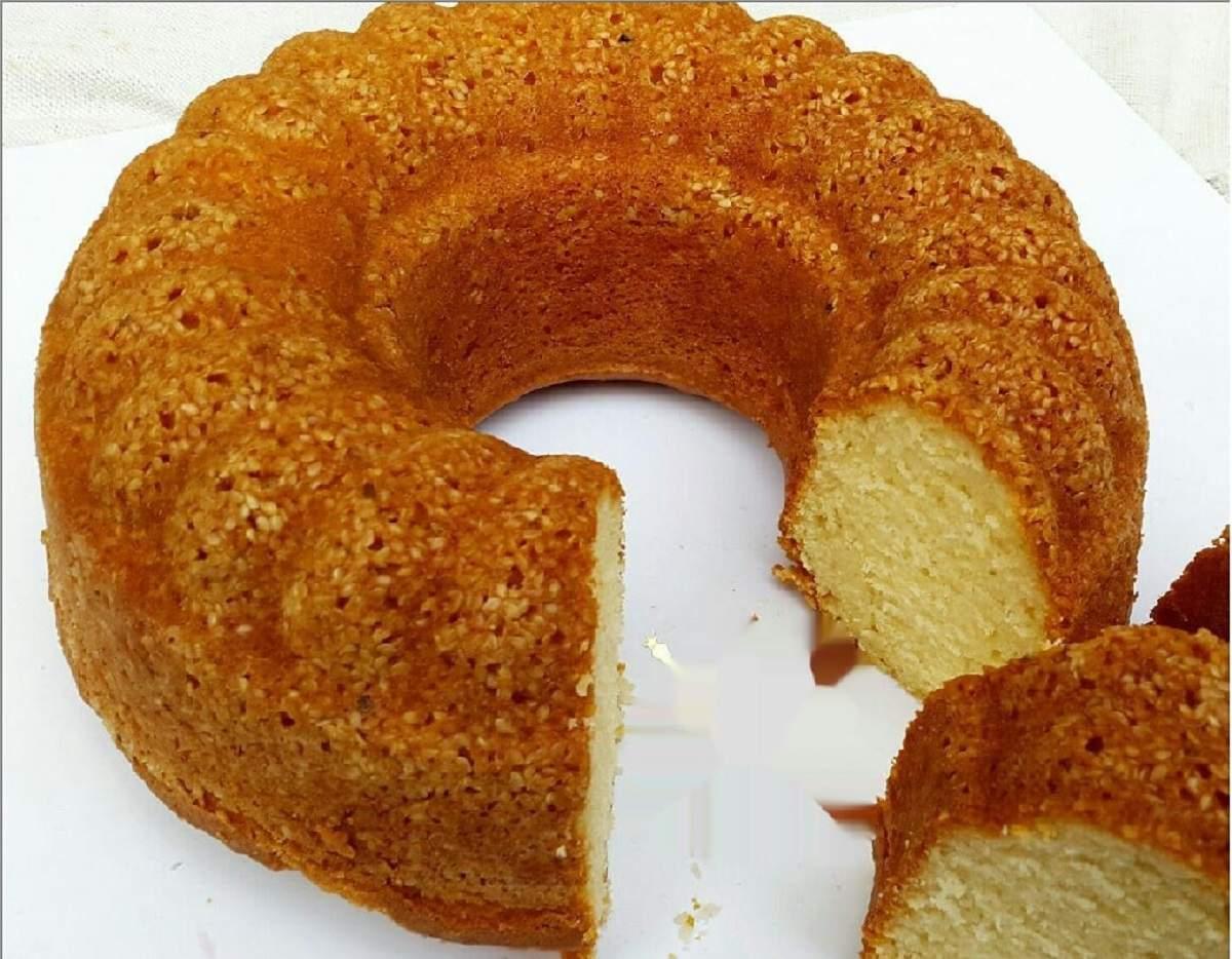 آموزش چهار نوع کیک کنجدی
